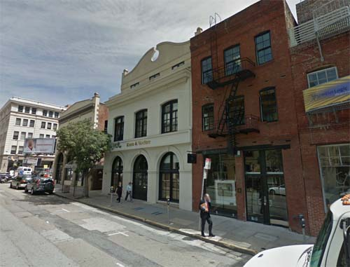 2013 - Sansome Street in San Francisco USA (Google Streetview)