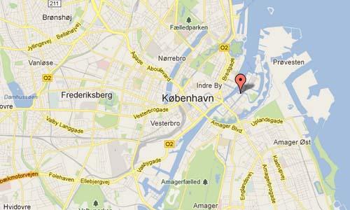 Strandgade Copenhagen Map