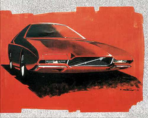 1970 - Volvo GTZ 3000 Sketch