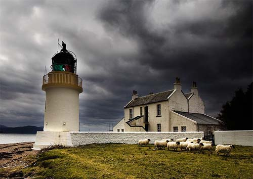 2013 - Corran Lighthouse Lodge in Scotland UK
