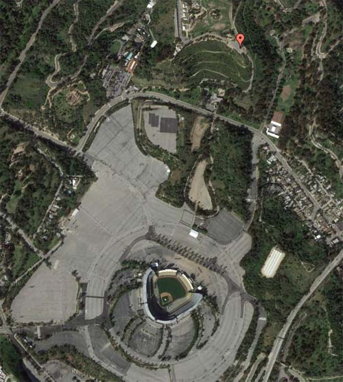 Dodgers Stadium LA USA GMaps