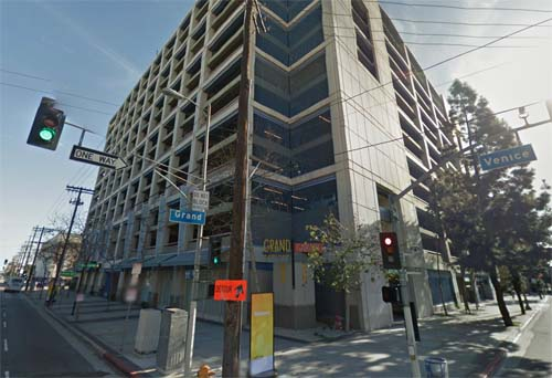 2013 - Parking Grand Ave Garage in Los Angeles in USA (Google Streetview)