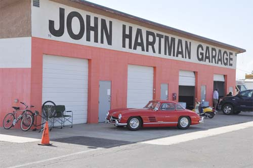 2013 - John Hartman Garage at Willow Springs Raceway in Rosamond, USA