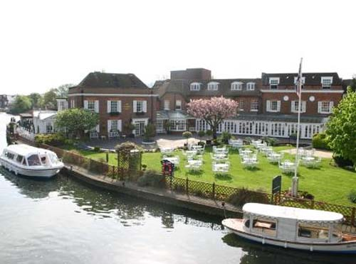 2013 - Macdonald Compleat Angler Hotel in Marlow, UK