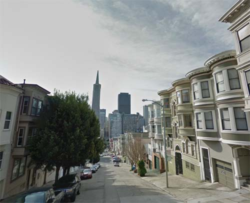 2013 - Montgomery Street in San Francisco USA (Google Streetview)
