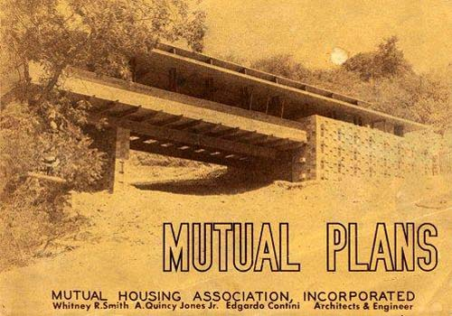 1946 - Cover of the Mutual Housing Association plan