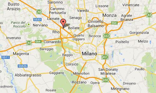Rho Milano Italy Maps