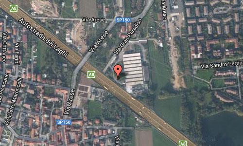 Rho Milano Italy Maps2