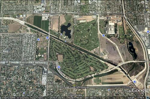 2013 - Sepulveda Basin in Los Angeles, USA (Google Maps
