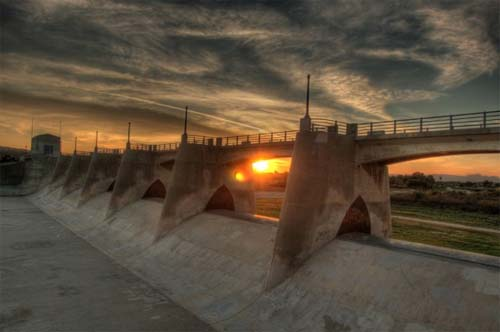 2013 - Sepulveda Dam in Los Angeles, USA