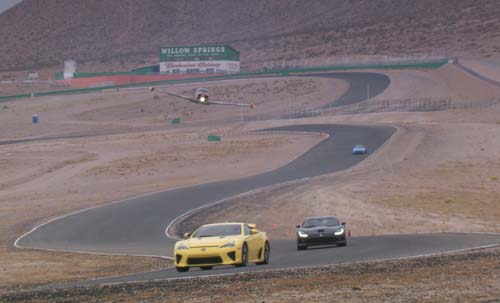 Top Gear at Willow Springs