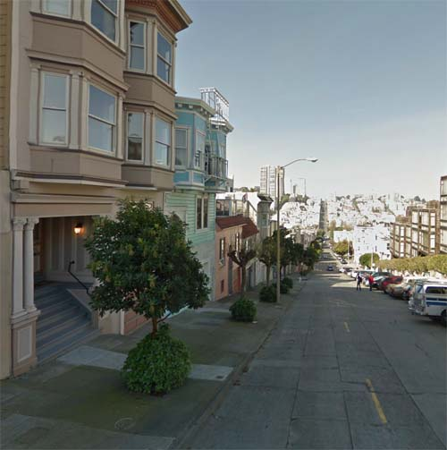 2013 - Union Street (view to the west) in San Francisco, USA (Google Streetview)