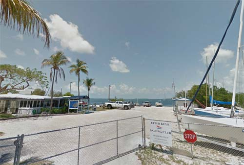 2013 - Upper Keys Sailing Club at Ocean Bay Drive in Key Largo, Florida USA (Google Streetview)