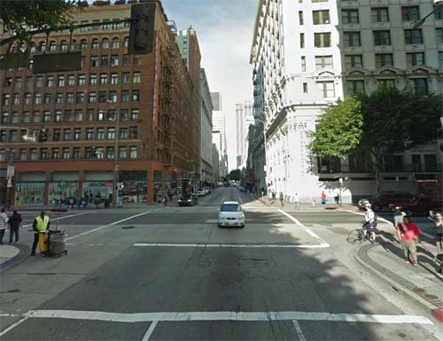 2013 - West 6th Street and South Spring Street in Los Angeles, USA (Google Streetview)