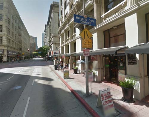 2013 - West 8th Street and Broadway in Los Angeles, USA (Google Streetview)