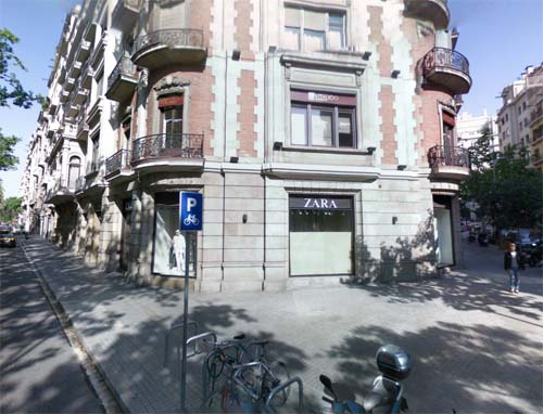 2013 - Zara at Av Diagonal in Barcelona Spain