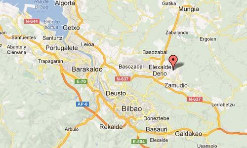 Parque Tecnológico de Vizcaya Map