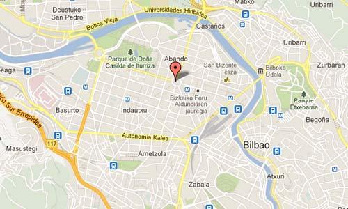 Plaza Moyua - Bilbao Map