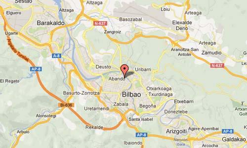 Uribitarte Kalea Bilbao Map