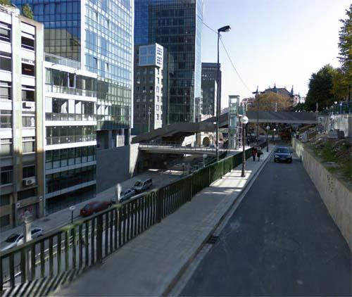 2013 - Uribitarte Kalea in Bilbao, Spain (Google Streetview)