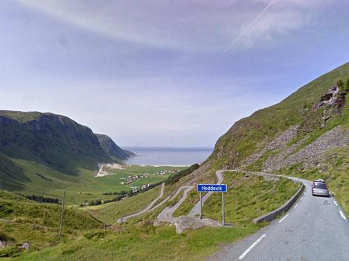 2013 - Hoddevik, Fylkesveg 632, Sogn og Fjordane in Norway (Google Streetview