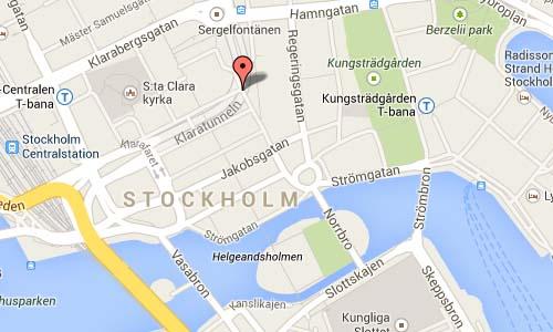 Brunkebergstorg Maps