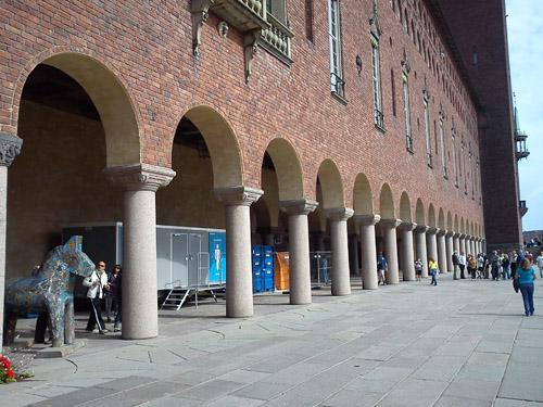 2013 - Stockholm stadshus - södra längan