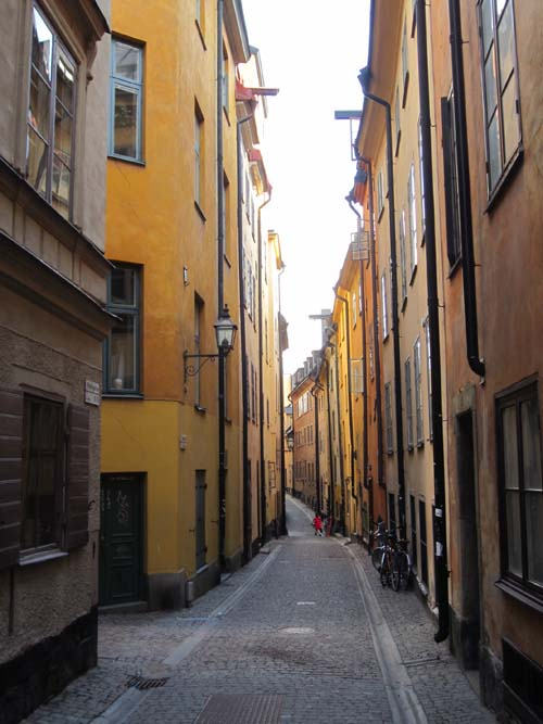 2013 - Prästgatan in Gamla Stan in Stockholm (my own photo)