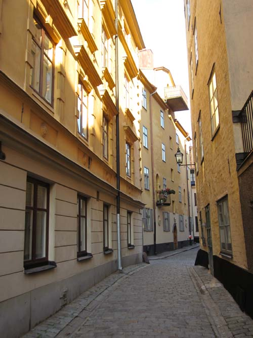 2013 – Tyska Skolgränd in Stockholm (my own photo)