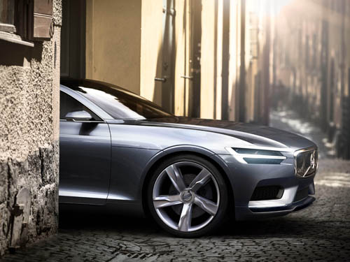 2013 - Volvo Concept Coupé (Sneak preview)