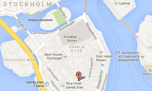 prästgatan stockholm map