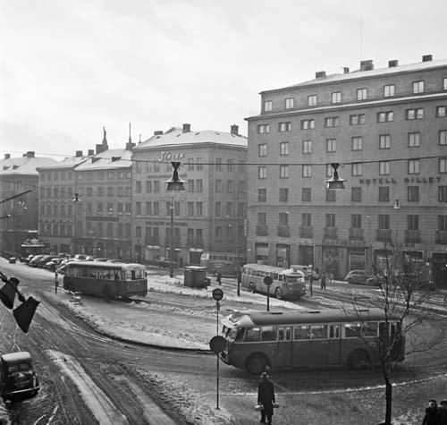 1949 - Brunkebergstorg 11 in Stockholm (source: Stockholmskällan)