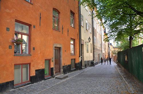 2013 - Prästgatan in Gamla Stan in Stockholm (Source: Björnidet)