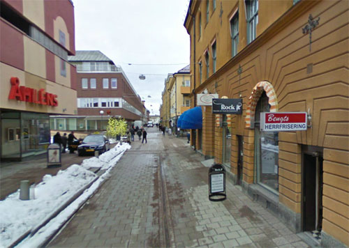 2013 - Åsgatan in Falun (Google Streetview)