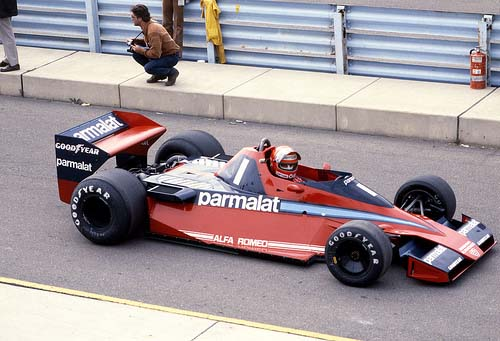 1978 - Brabham Alfa-Romeo BT46 with Niki Lauda