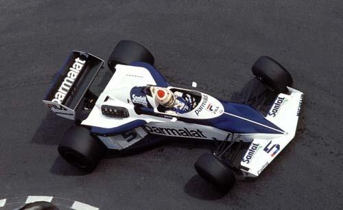 1983 - Brabham BMW BT52 with Nelson Piquet