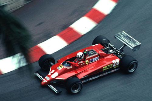 1982 - Ferrari 126 C2 with Didier Pironi