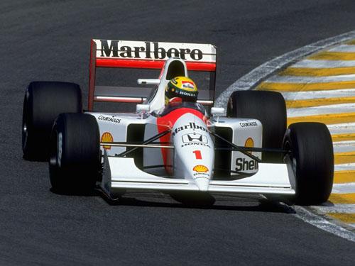 1989 - McLaren Honda MP4-5 with Ayrton Senna da Silva