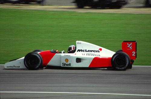 1989 - McLaren Honda MP4-5 with Gerhard Berger