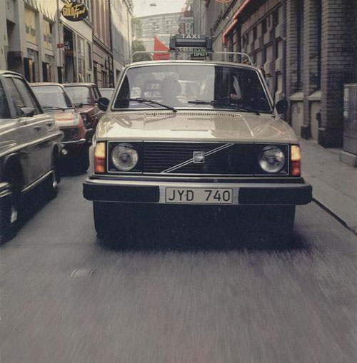 1978 - Volvo 244 Taxi
