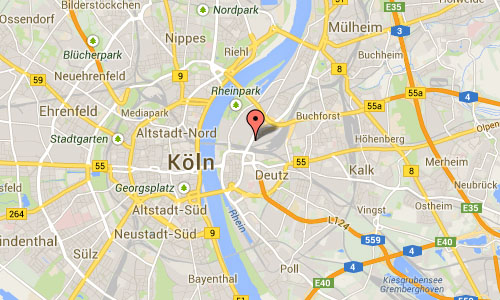 Design Post Köln Map
