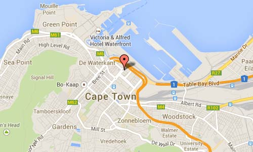 Heerengracht St Cape Town Map