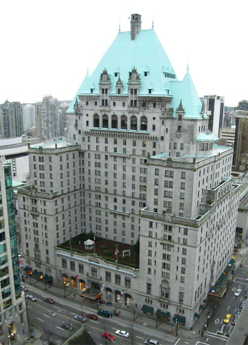 Hotel vancouver vancouver