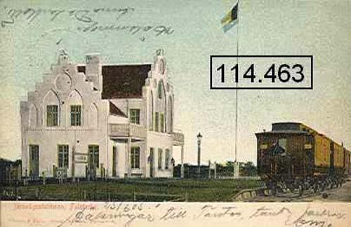 1905 - Jernvägsstationen Falsterbo Skanör