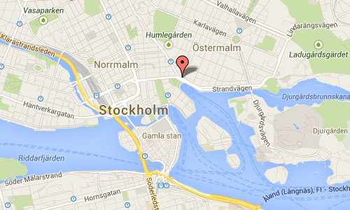 Nybroplan stockholm map
