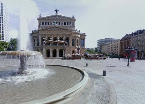 2013 - Opernplatz in Frankfurt in Germany (Google Streetview)