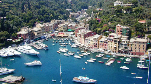 2013 - View on Portofino harbor.