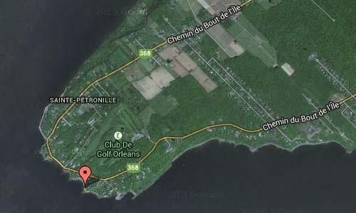 Rue Gagnon in Quebec Map2
