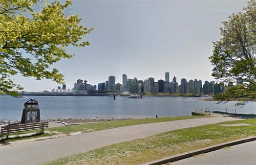 2013 - Stanley Park Dr in Vancouver Canada (Google Streetview)