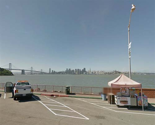 2013 - Treasure Island Road in San Francisco (Google Streetview)